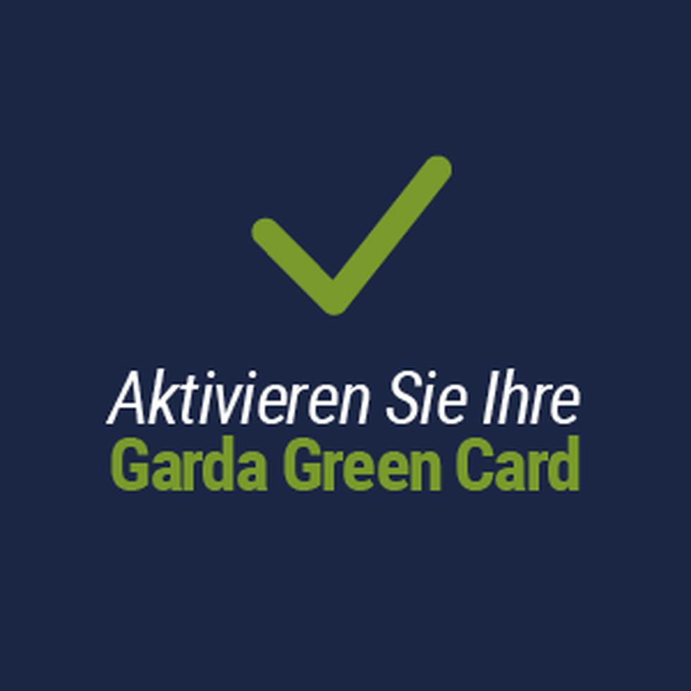 Aktivieren Sie Ihre Garda Green Card